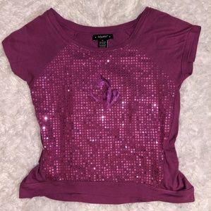 Beautiful sparkling Y2K vintage Baby Phat top